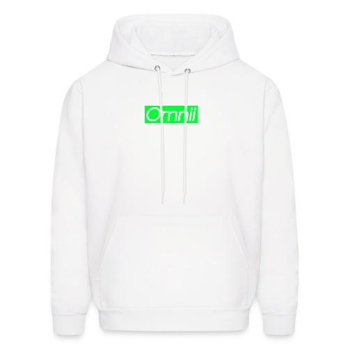 Omnii BOX Logo Hoodie  - Men's Hoodie