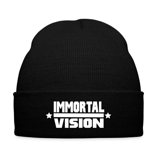 Immortal Vision Cuffed - Knit Cap with Cuff Print