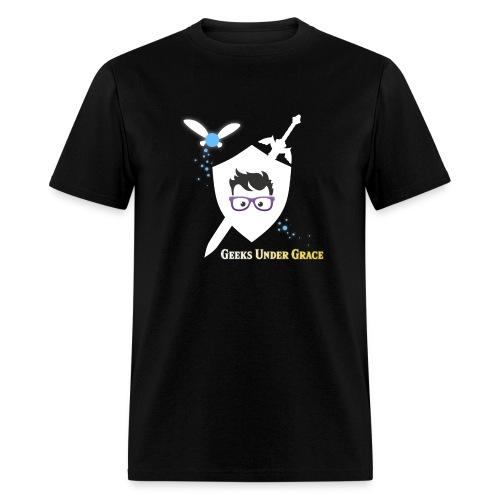 Sword and Shield Shirt - Men's T-Shirt