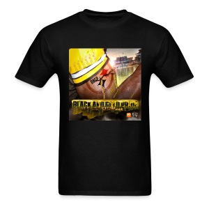 Black and Gold Pride Mens - Men's T-Shirt