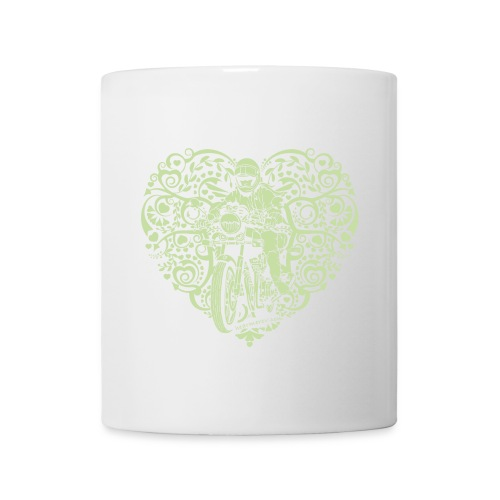 Motorcycle Heart - Mug - Coffee/Tea Mug