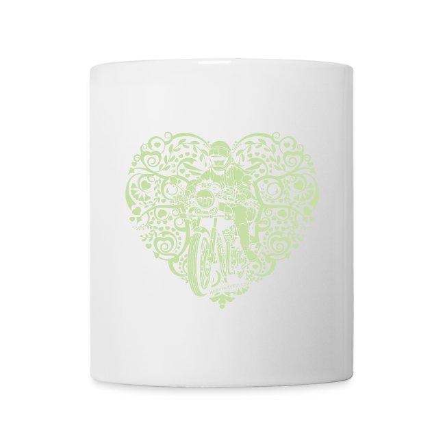 Motorcycle Heart - Mug