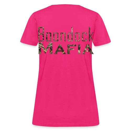 Max 5 Boondock Mafia Ladie's T-Shirt - Women's T-Shirt