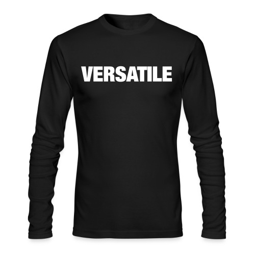 Versatile - Men's Long Sleeve T-Shirt by Next Level