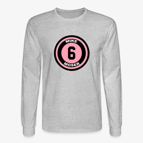 Men's Long Sleeve T_Pink - Men's Long Sleeve T-Shirt