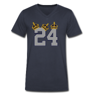 T-Shirts ~ Men's V-Neck T-Shirt by Canvas ~ 3 Crowns