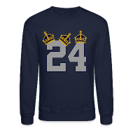 Long Sleeve Shirts ~ Crewneck Sweatshirt ~ 3 Crowns