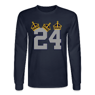 Long Sleeve Shirts ~ Men's Long Sleeve T-Shirt ~ 3 Crowns