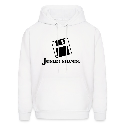 Jesus Saves Hoodie - Men's Hoodie
