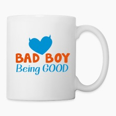 BAD BOY- being GOOD! Bottles & Mugs