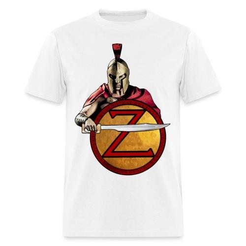 Greek soldier defending - Men's T-Shirt