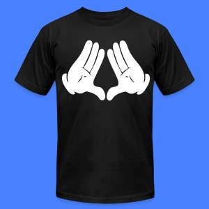 Illuminati Hands T-Shirts - stayflyclothing.com - Men's T-Shirt by American Apparel