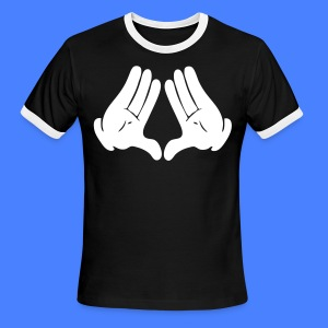 Illuminati Hands T-Shirts - stayflyclothing.com - Men's Ringer T-Shirt