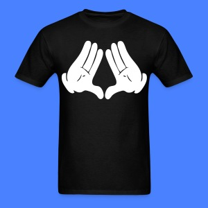 Illuminati Hands T-Shirts - stayflyclothing.com - Men's T-Shirt
