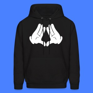 Illuminati Hands Hoodies - stayflyclothing.com - Men's Hoodie