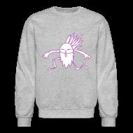 Long Sleeve Shirts ~ Men's Crewneck Sweatshirt ~ Seer Sweat