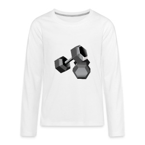 Workout - Kids' Premium Long Sleeve T-Shirt