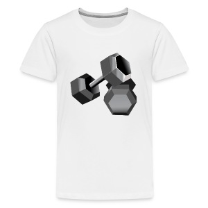 Workout - Kids' Premium T-Shirt