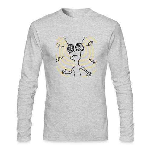 Your Brain Long - Men's Long Sleeve T-Shirt by Next Level