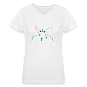 NP V-neck - Women's V-Neck T-Shirt