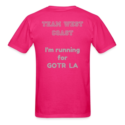 MENS | Fit 4 Fun Run Race Shirt - TEAM WEST COAST - Men's T-Shirt