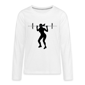 Weightlifting - Kids' Premium Long Sleeve T-Shirt