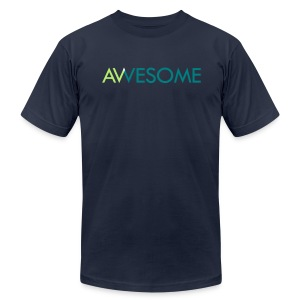AVVESOME - Men's T-Shirt by American Apparel