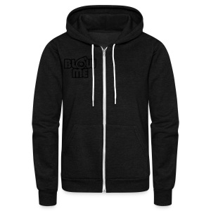 blow me - Unisex Fleece Zip Hoodie