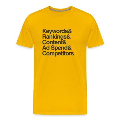 What I Do Shirt - Men's Premium T-Shirt