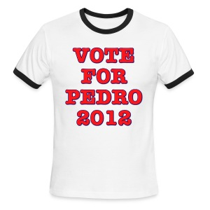 Vote For Pedro 2012 - Men's Ringer T-Shirt