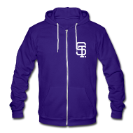 Zip Hoodies & Jackets ~ Unisex Fleece Zip Hoodie by American Apparel ~ VARCITYSAINTS Zip Hoodie