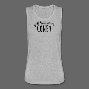 You Had Me At Coney - Women's Flowy Muscle Tank by Bella