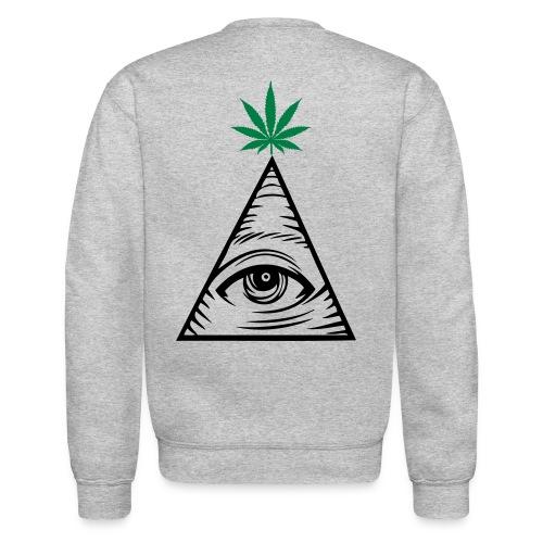 Pyramid Hemp Sweatshirt - Crewneck Sweatshirt