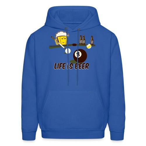 Beer Pool - Men's Hoodie