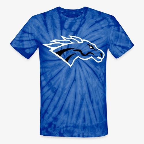 Indee Tye Dye Mustang - Unisex Tie Dye T-Shirt