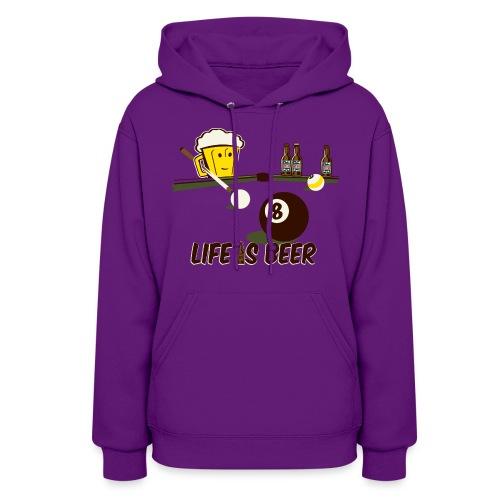 Beer Pool - Women's Hoodie