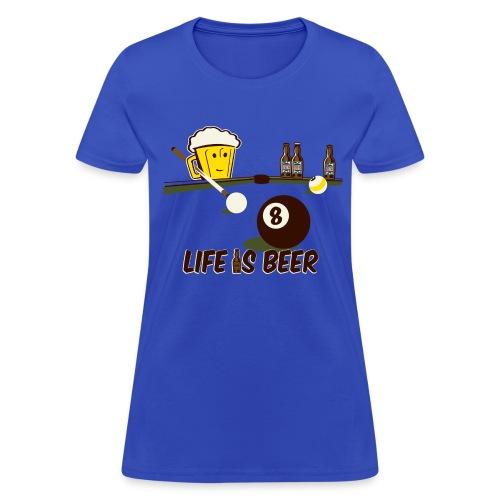 Beer Pool - Women's T-Shirt