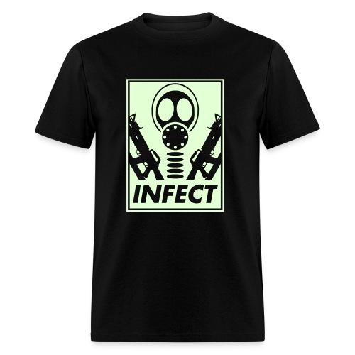 GLOW IN THE DARK WORLD DOMINATION TEE - Men's T-Shirt