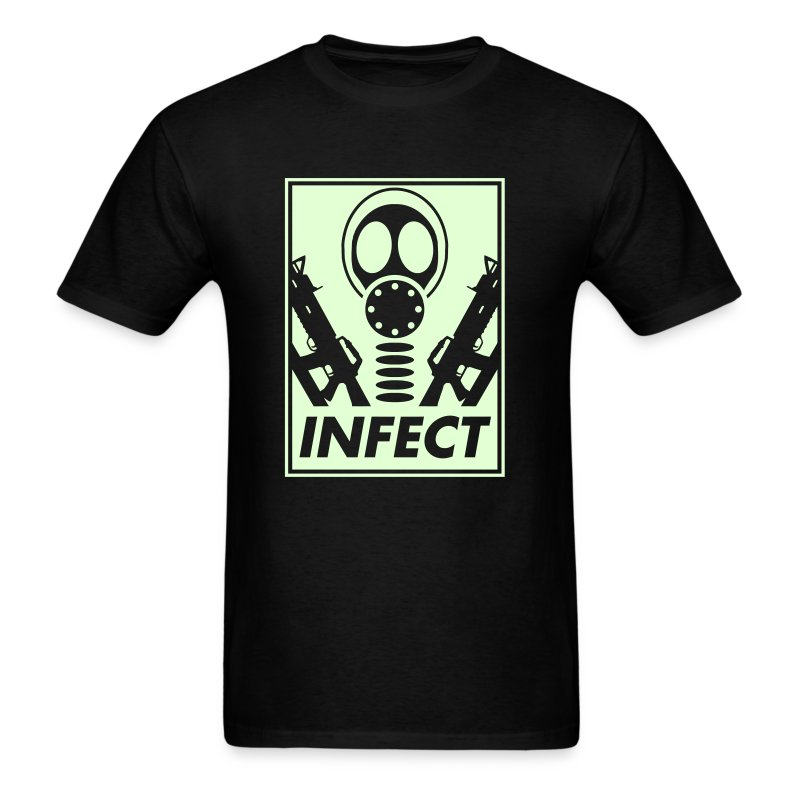 GLOW IN THE DARK WORLD DOMINATION TEE - Men's T-Shirt