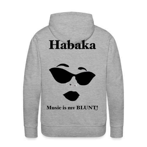 Men's Premium Habaka Signature Hoodie  - Men's Premium Hoodie