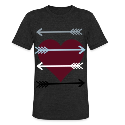 Arrow In My Heart - Unisex Tri-Blend T-Shirt