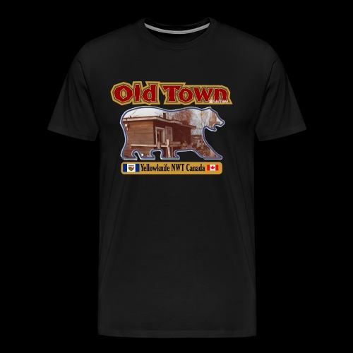 Old Town Yellowknife NWT - Men's Premium T-Shirt