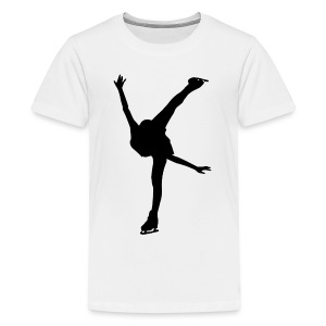 Figure Skating - Kids' Premium T-Shirt
