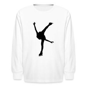 Figure Skating - Kids' Long Sleeve T-Shirt