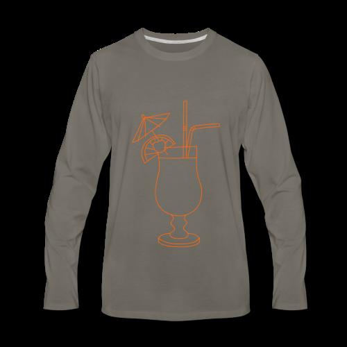 Cocktail - Men's Premium Long Sleeve T-Shirt