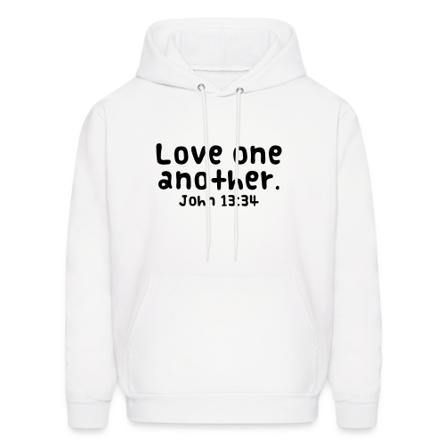 Love one another -Mens - Men's Hoodie