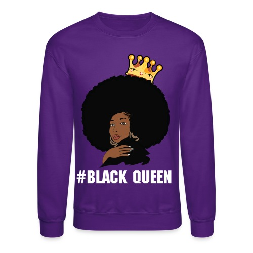 Black Queen Crewneck - Crewneck Sweatshirt