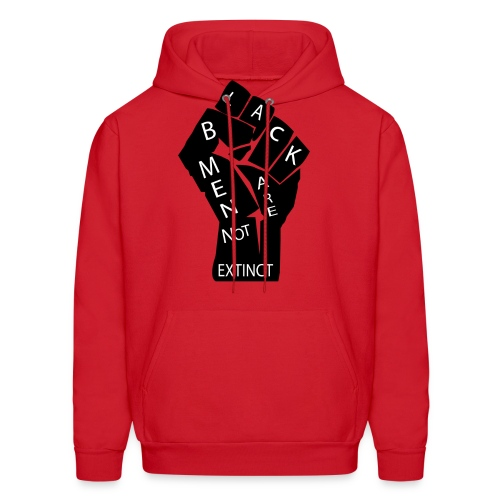 Black men Are Not Extinct  Hoodie  - Men's Hoodie