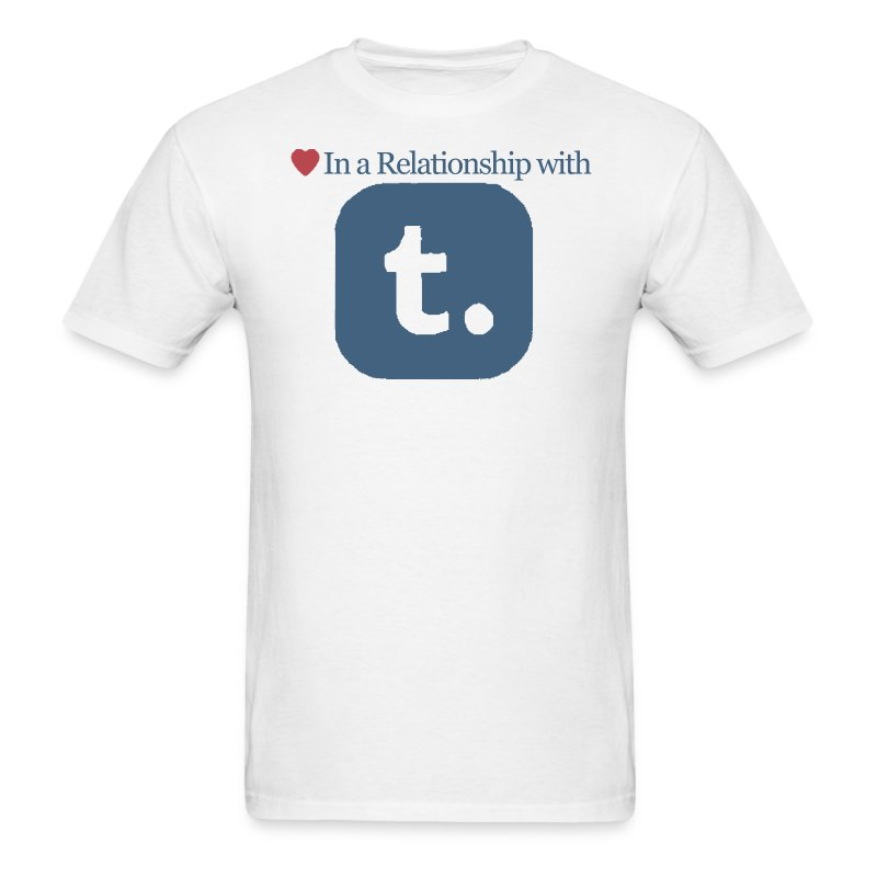 Relationship with Tumblr Tee - Men's T-Shirt