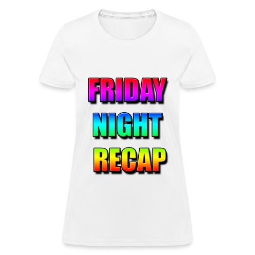 Friday Night Recap Logo Women's T-Shirt - Women's T-Shirt